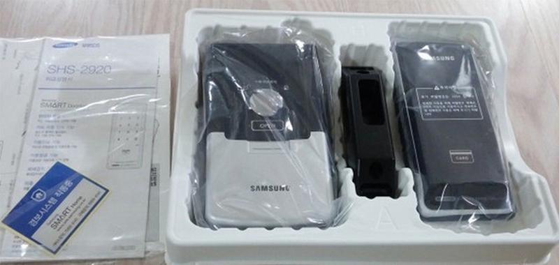 Замок электронно механический сенсорный Samsung EZON SHS-1321(292 - Фото 2