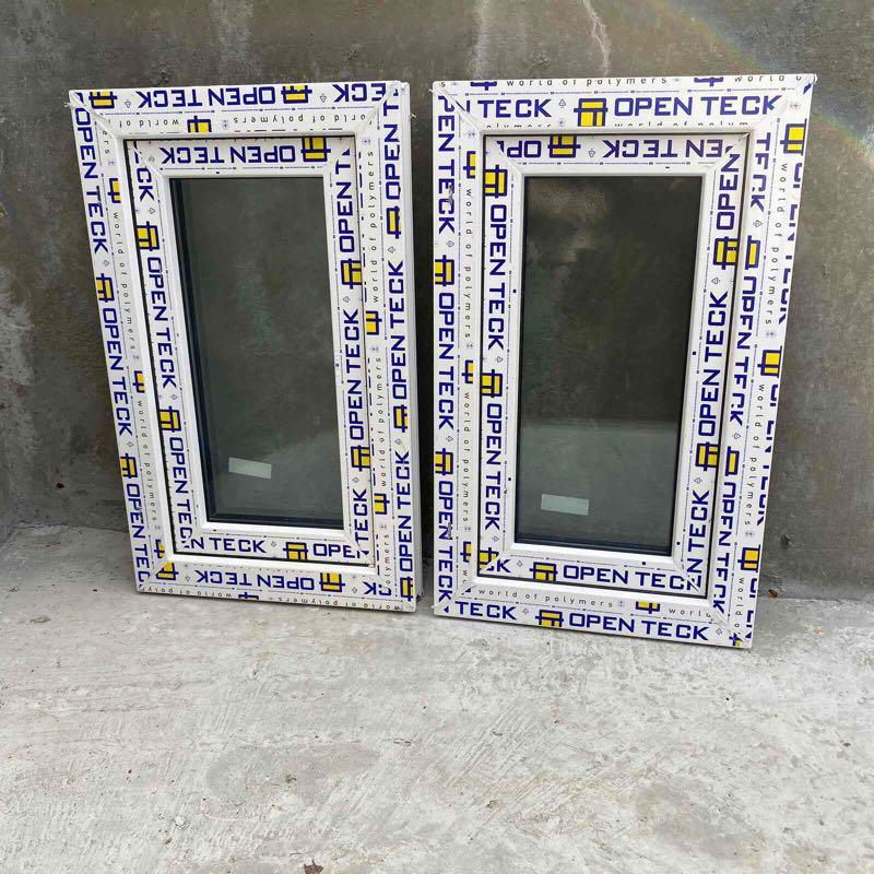 Металлопластиковые однокамерные  окна , окно