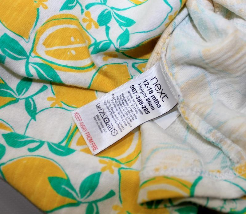 Платье next на 12-18 месяцев, рост 86 см - Фото 2