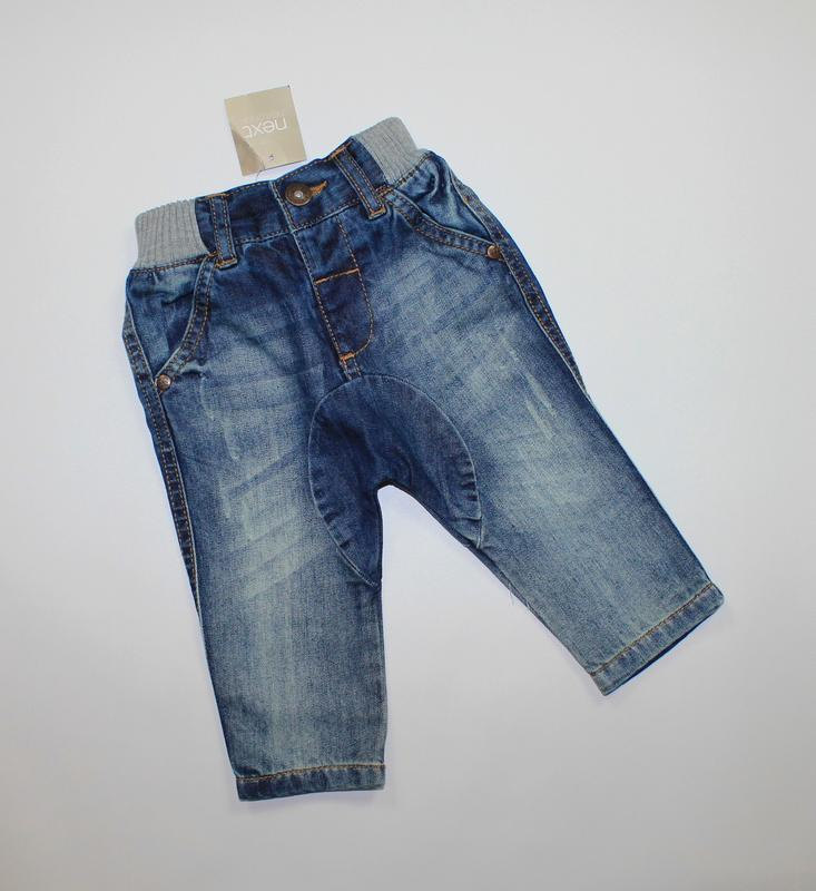 Сток. джинсы на 3-6 мес, рост 68 см