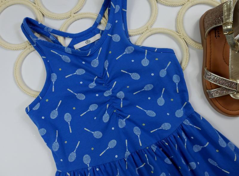 Платье на 6-7 лет, рост 122 см - Фото 2