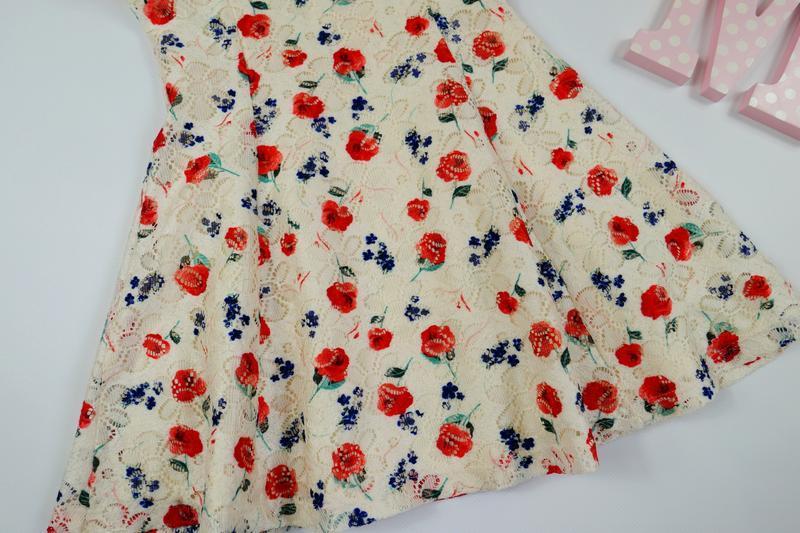 Нежное кружевное платье yd на 3-4 года, рост 104 см - Фото 5