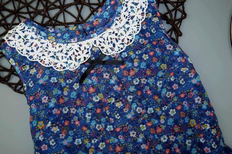 Блузка, туника m&s на 8-9 лет, рост 134 см - Фото 4