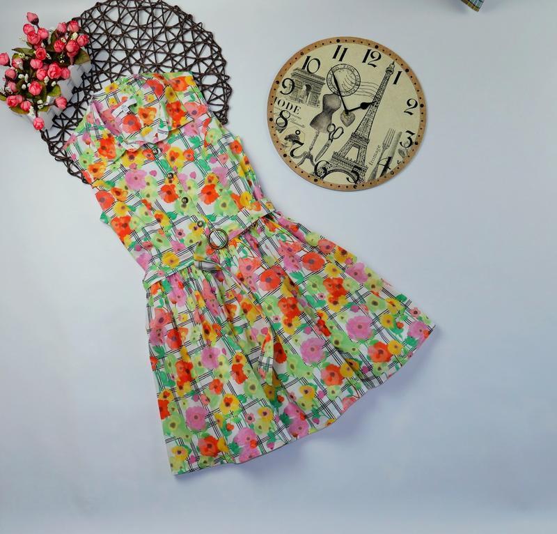 Платье m&s на 8-9 лет, рост 128-134 см