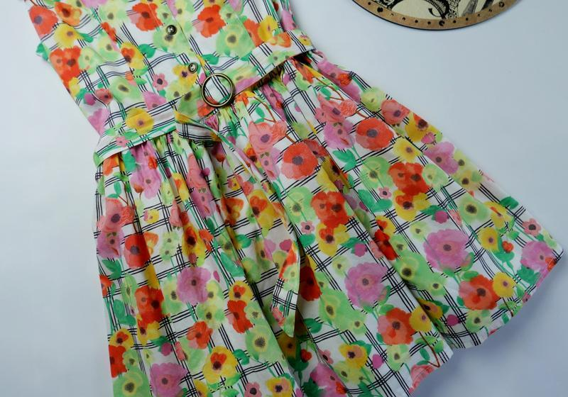 Платье m&s на 8-9 лет, рост 128-134 см - Фото 3