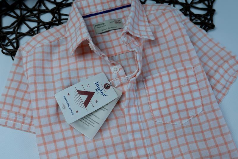 Сток рубашка, тенниска на 12-18 мес. рост 86 см - Фото 3