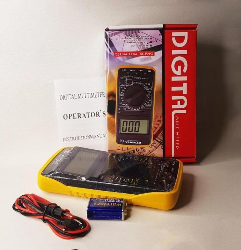 Универсальный мультиметр, тестер цифровой DT9205A