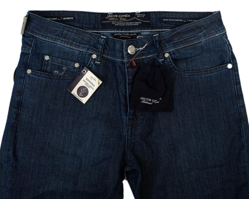 Jacob Cohёn. Тёмно-синие классические джинсы - Фото 4