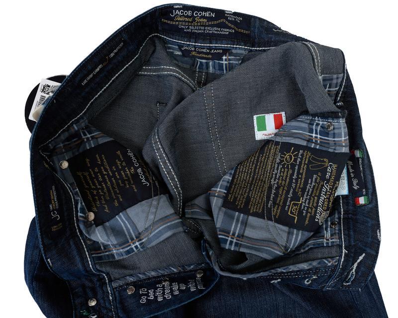 Jacob Cohёn. Тёмно-синие классические джинсы - Фото 5
