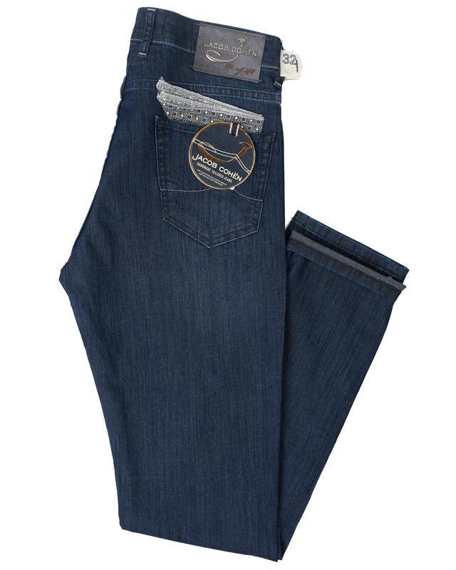 Jacob Cohёn. Тёмно-синие классические джинсы - Фото 3
