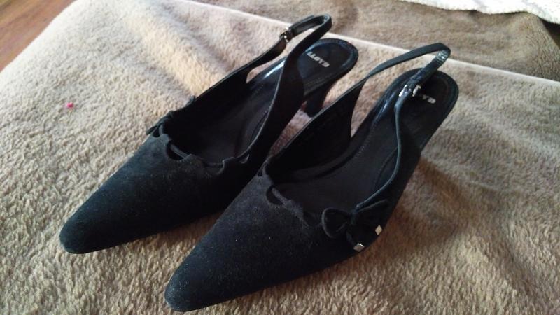 Туфли на каблуке, черные, 39 - Фото 2