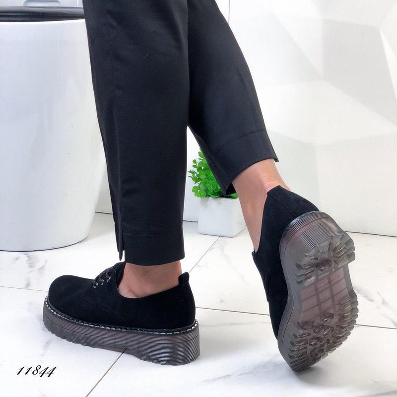 Новиночка стильные замшевые туфельки