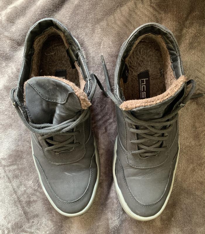Зимові чоловічі ботинки, взуття зимове.