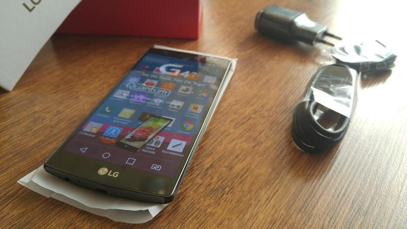 LG G4 H818 Dual Sim 3GB 32GB 16Mpx NFC Новый Оригинал