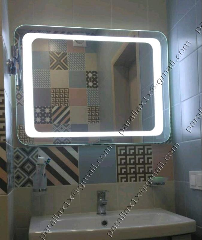 Зеркало с подсветкой влагостойкое. - Фото 2