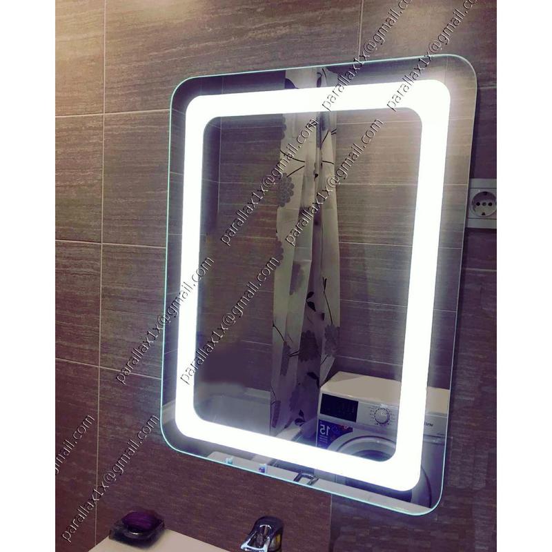 Зеркало с подсветкой влагостойкое.