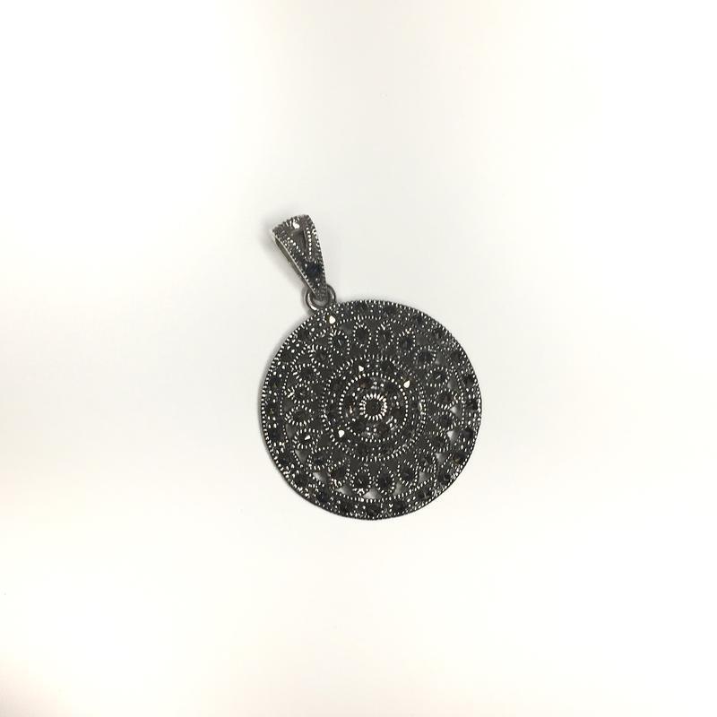 Серебряный кулон капельное серебро 925 проба