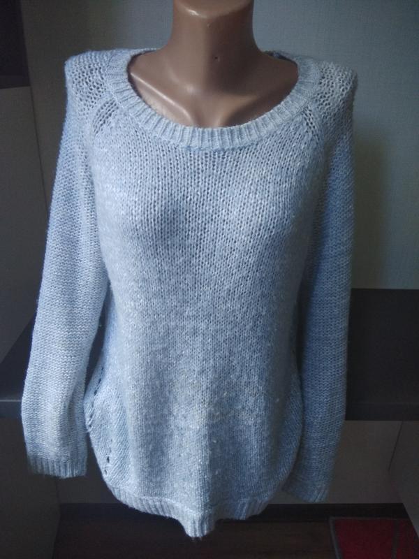 Нежный голубой свитер new look