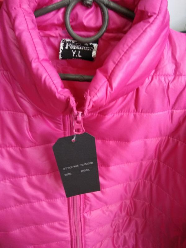 Яркая куртка деми - Фото 3