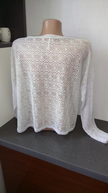 Укороченная блуза - Фото 3