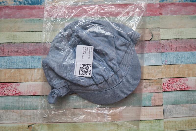 Кепик на 4-6 лет, h&m cap with bow - Фото 3