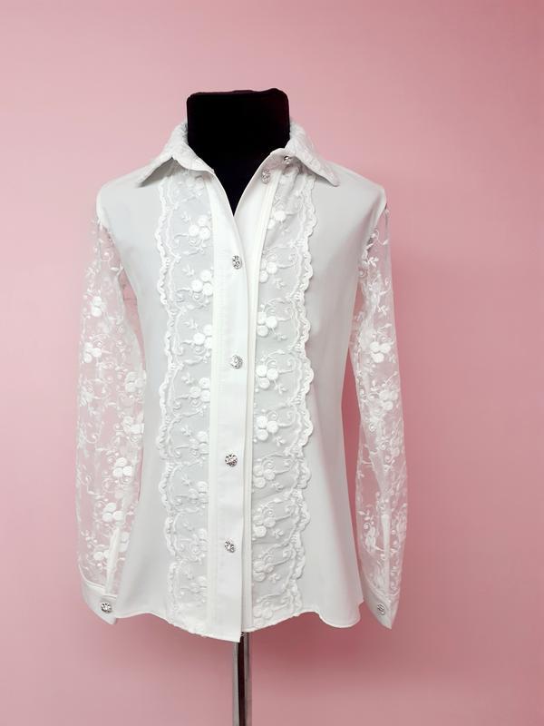 Блуза шкільна - Фото 3