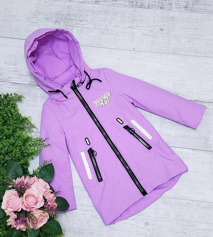 Демисезонные куртки для девочек модные