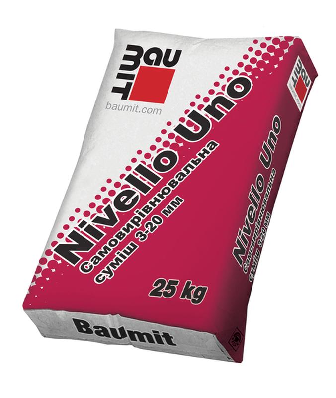 Самовыравнивающаяся смесь Baumit Nivello Uno