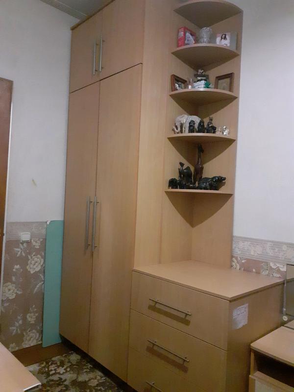Шкаф, комод, полка + письменный стол