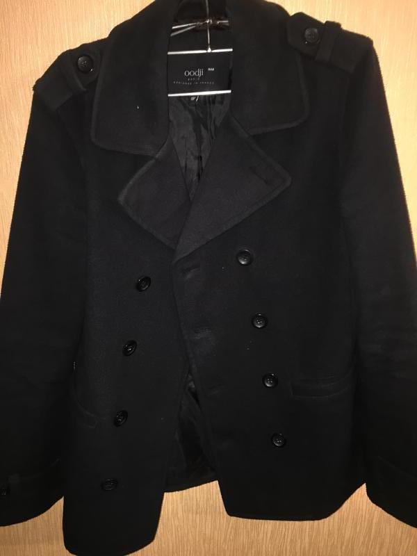 Пальто мужское oodji