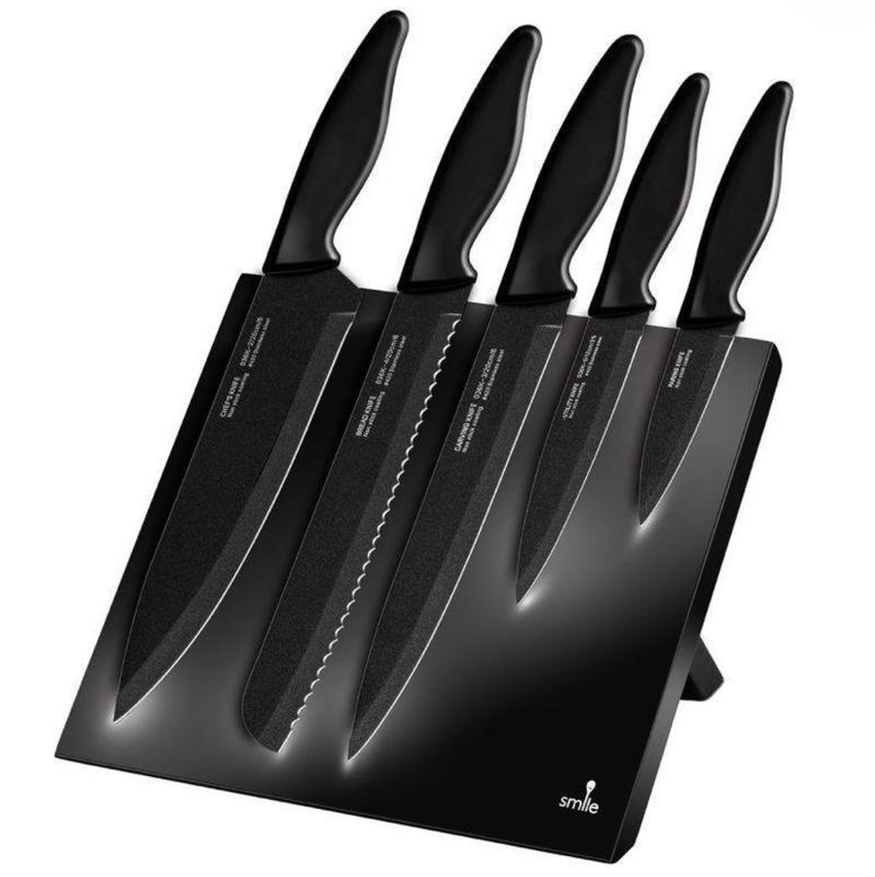 Кухонные ножи (5шт) Smile SNS-2 (Польша), набор ножей
