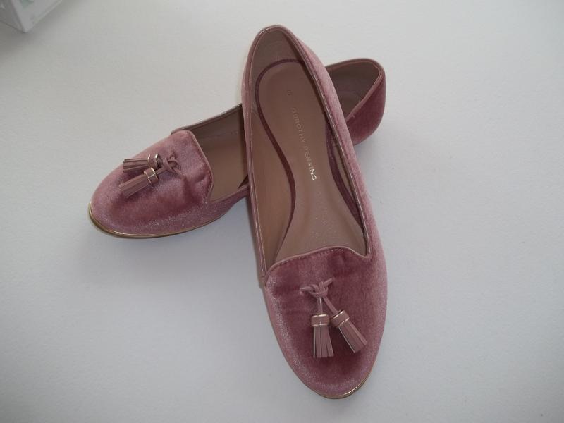Шикарные бархатные балетки с кисточками,цвет пудра фирма dorot...