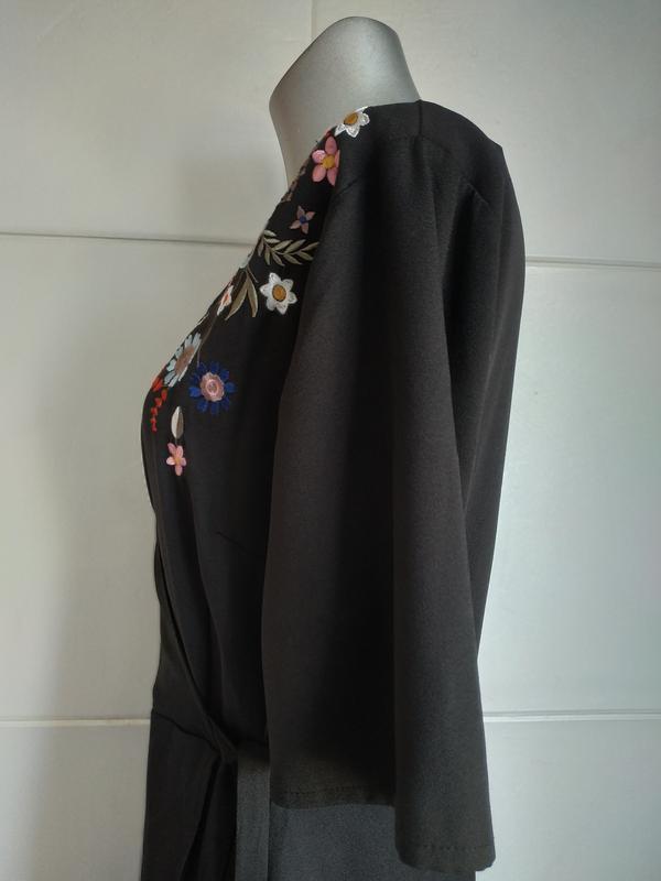 Красивое платье new look с вышивкой красивых цветов - Фото 4