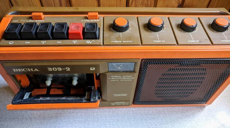 кассетный магнитофон новый купить