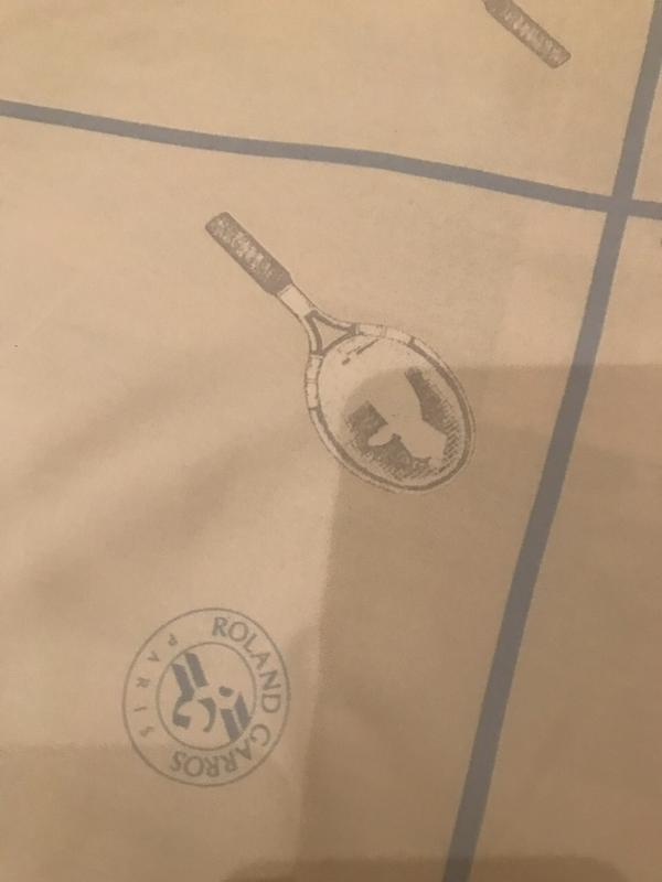 Фирмовый платок roland garros - Фото 4