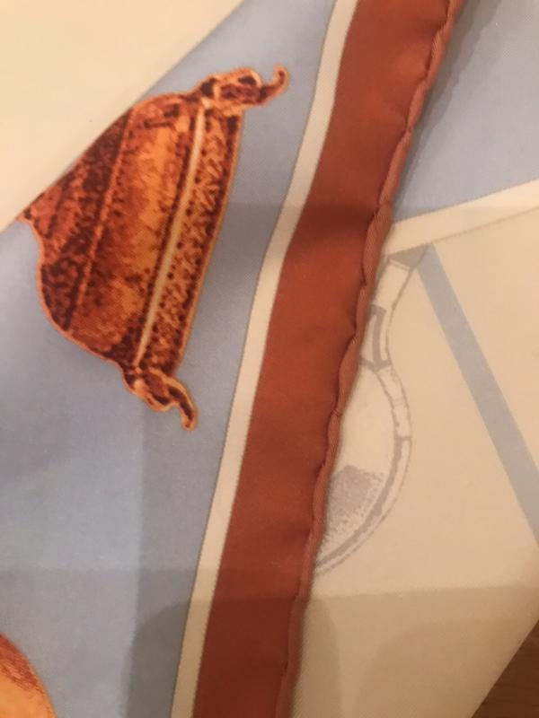 Фирмовый платок roland garros - Фото 5