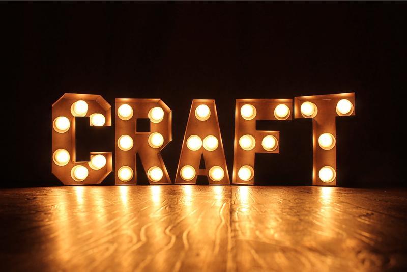 Изготовление светящихся ретро букв и цифр с лампами (лампочками) - Фото 3