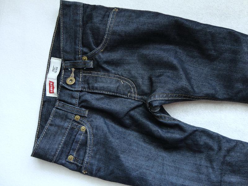 Стильные фирменные джинсы levi's 8л р.128 levis левис - Фото 2