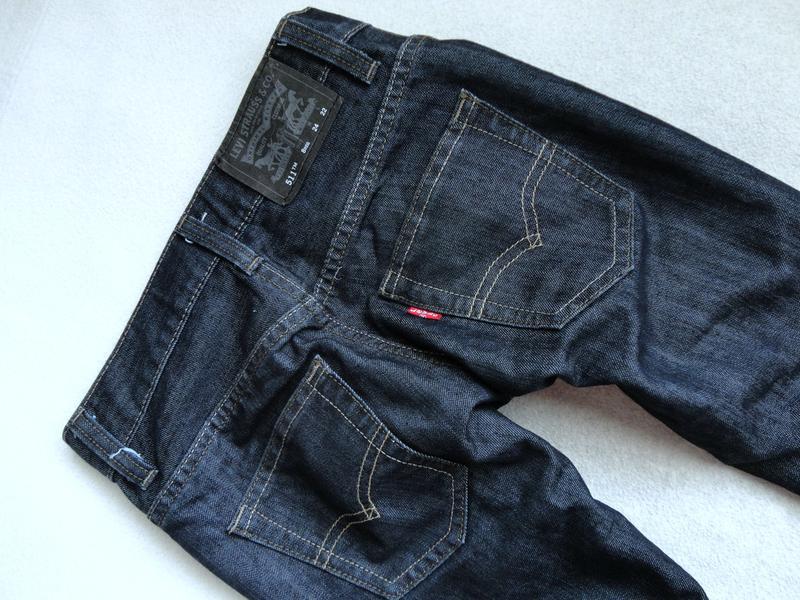 Стильные фирменные джинсы levi's 8л р.128 levis левис - Фото 3