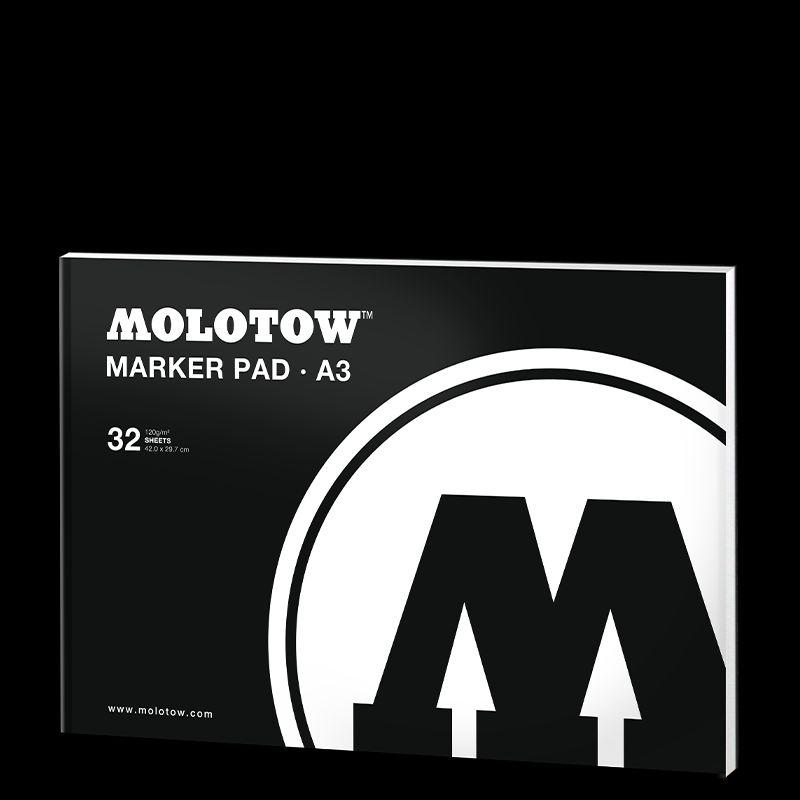Molotow / Скетчбук / Альбом / Альбомы для скетчей и эскизов