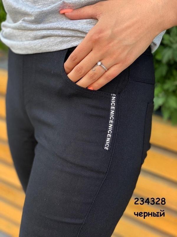 Модные джинсовые легинсы на подростков