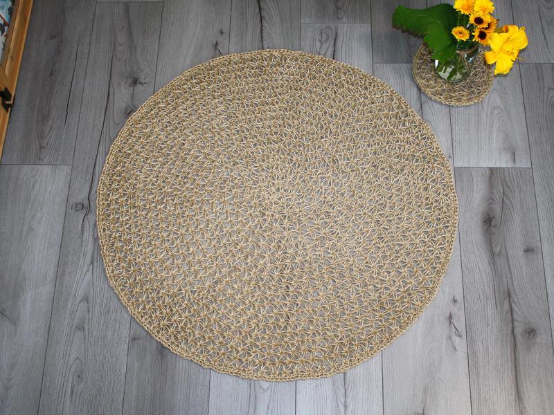 Килимок для ванної кімнати (88cм), килимок, килимок з джуту