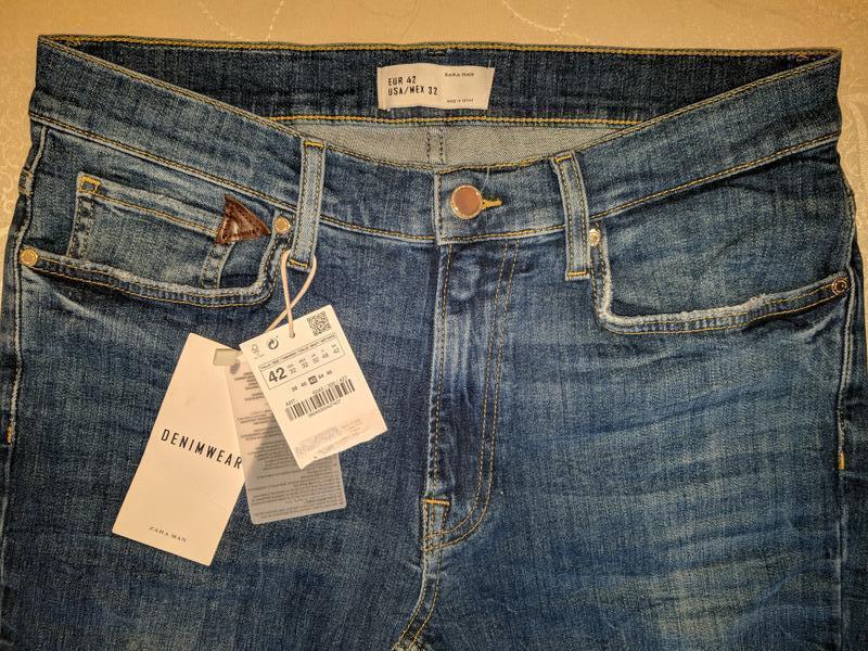 !продам новые мужские джинсы zara