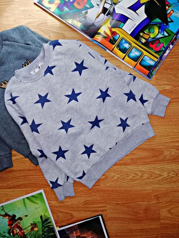 Детский брендовый свитшот - джемпер для мальчика h&m - возраст...