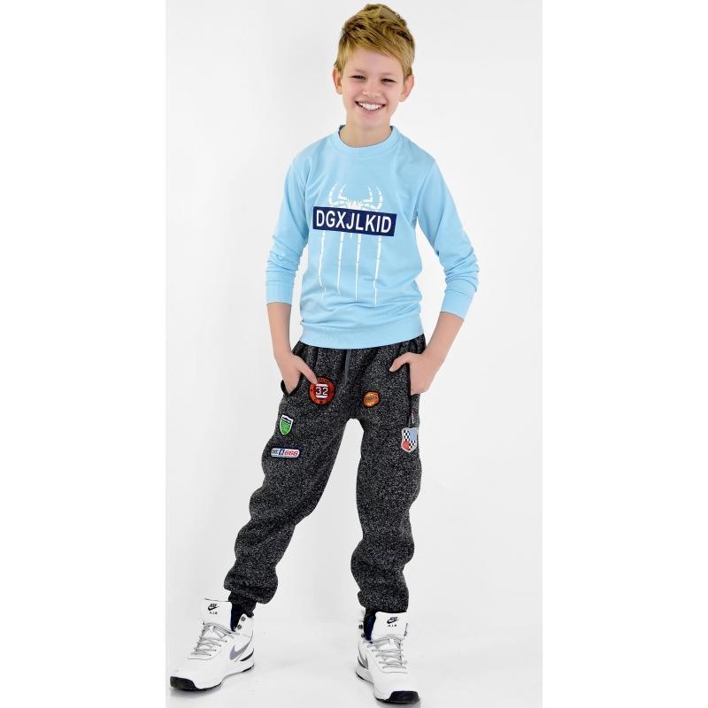 Утепленные спортивные штаны брюки на мальчика 11,12,13,14 лет ...
