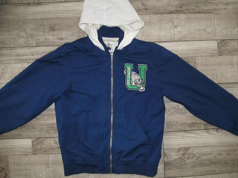 Куртка-ветровка  h&m рост 158см 12-13 лет