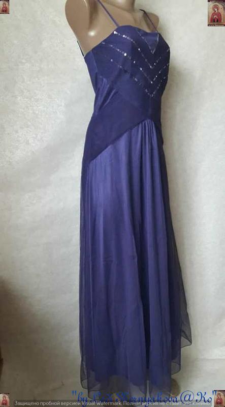 Новое фирменное bodyflirt платье в пол с фатином и паетками (ф... - Фото 3