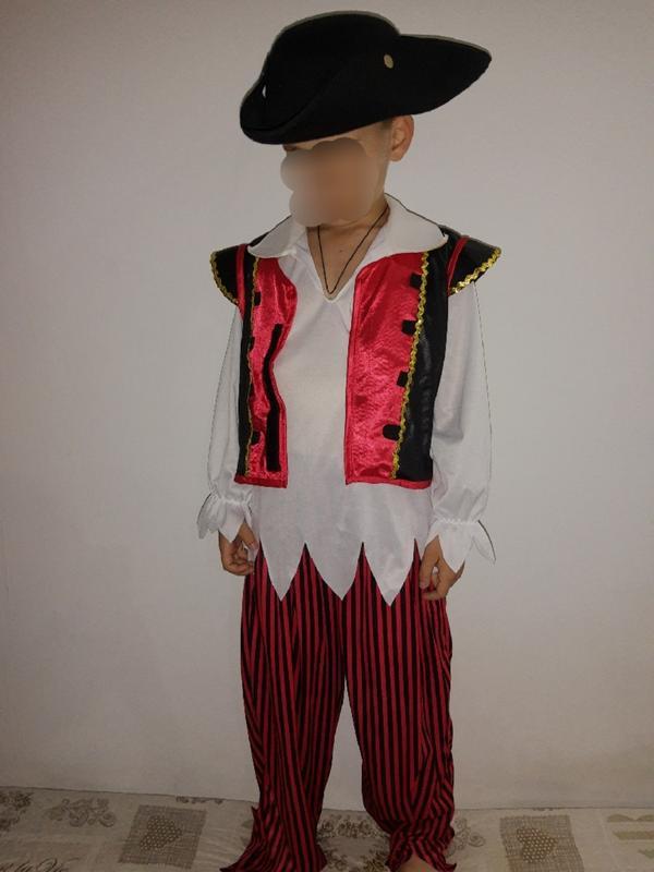 Карнавальный костюм детский пират на 7-8 лет