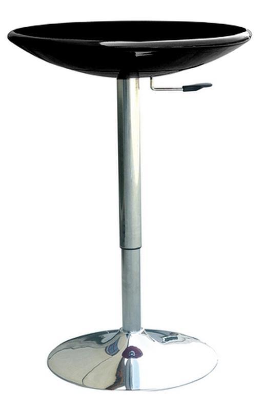 Барный стол регулируемый АМИРА, белый, черный - Фото 3