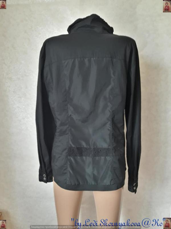 Фирменная bonita нарядная блуза/рубашка с комбинированым соста... - Фото 2